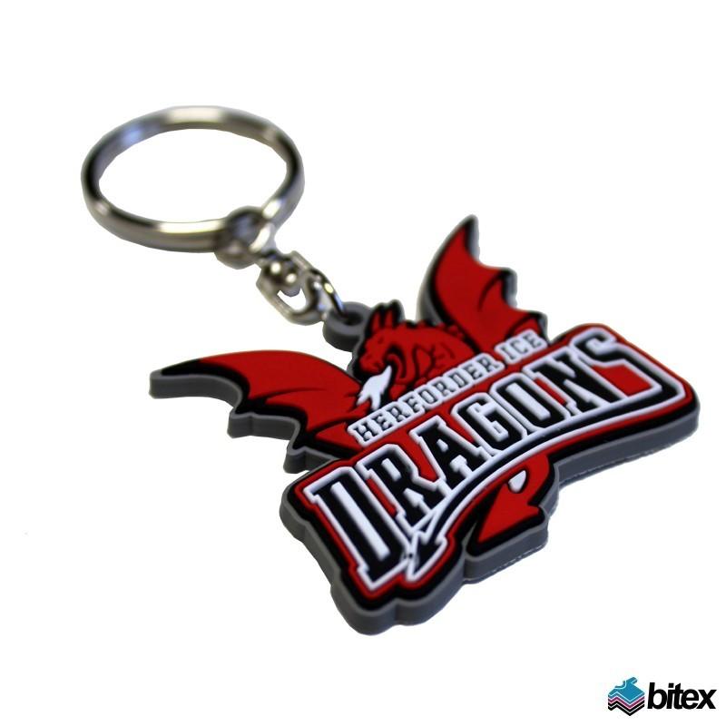 "Schlüsselanhänger ""Ice Dragons Logo"""