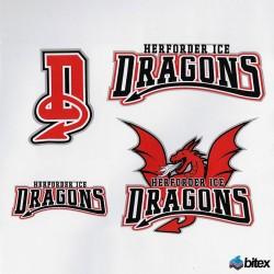 Ice Dragons Aufkleberset